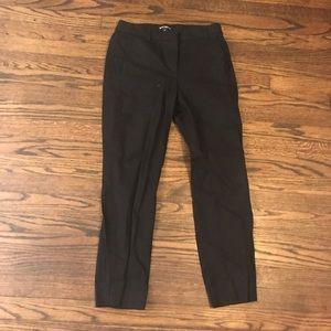 J Crew Black ankle chino pants 4